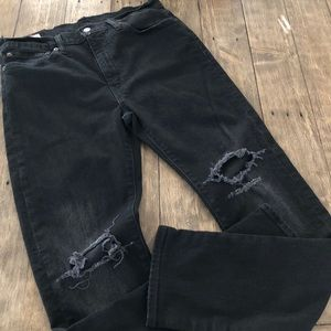 Levi's Mens 510 Black Skinny Fit Stretch Jeans 34